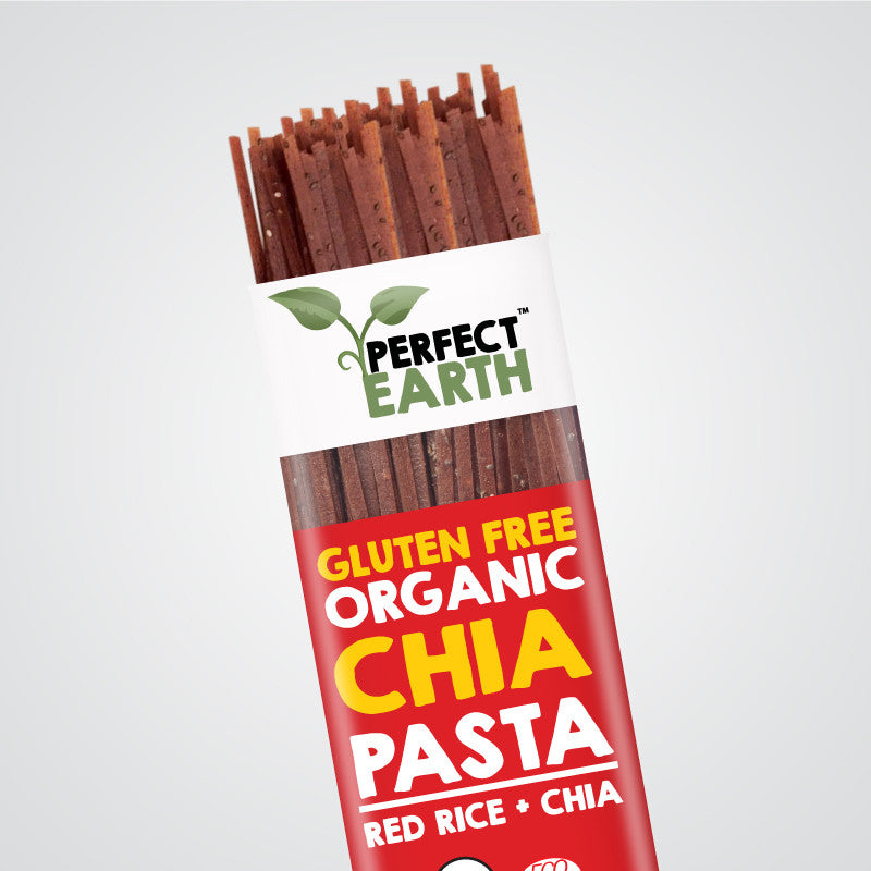 Perfect Earth Chia Pasta - Red Rice