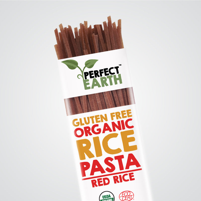 Perfect Earth Rice Pasta - Red Rice