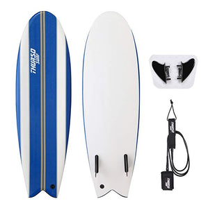 5'10'' Fish Soft Top Surfboard