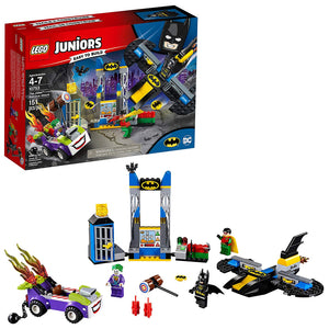 LEGO Juniors DC The Joker Batcave Attack Building Kit