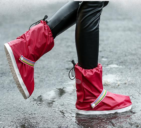 Waterproof Rain Shoe Covers for Men and Women