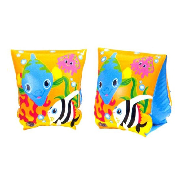 Kids Fish Pattern Inflatable Swim Wings