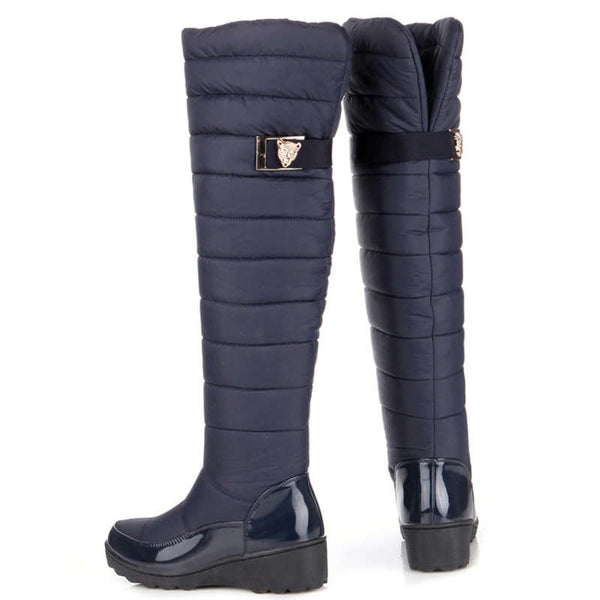 Russia Winter High Boots