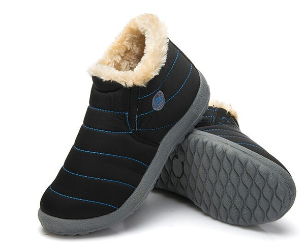 AntiSkid Plush Inside Men's Winter Boots