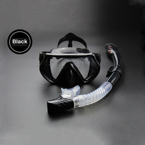 Professional Diving Mask and Dry Snorkel
