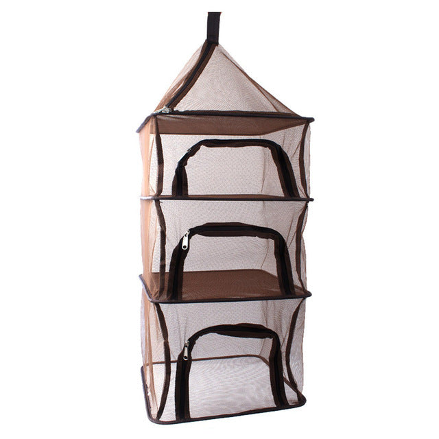 4 Layers Portable Dry Net Picnic Bag