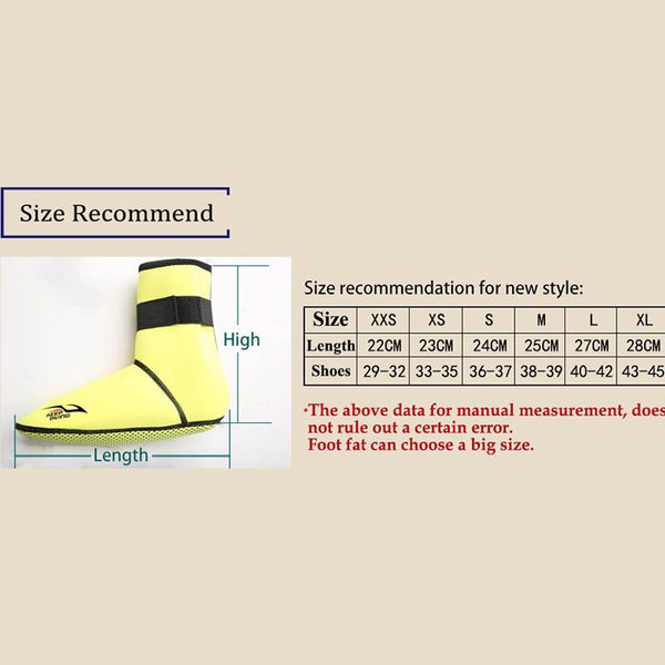 Adult Neoprene Anti-slip Ankle High Water Shoes