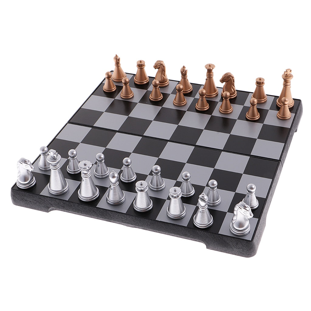 Folding Magnetic Chess Board