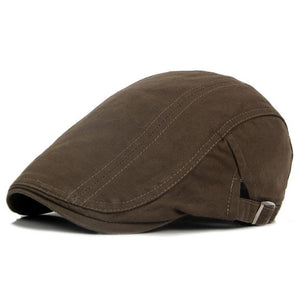 Casual Retro Newsboy Flat Cap