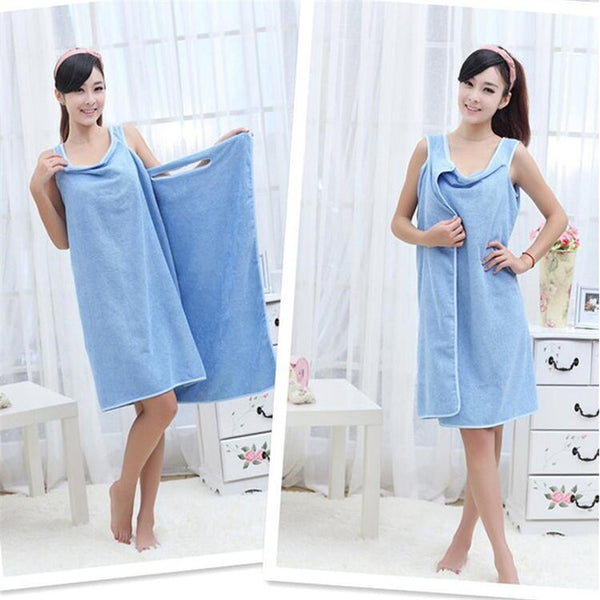 Wearable Robe Beach Towel