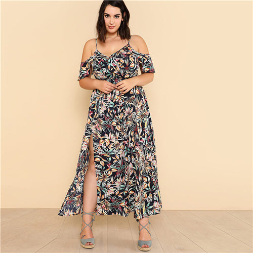 Emma Wrap Plus Size Dress