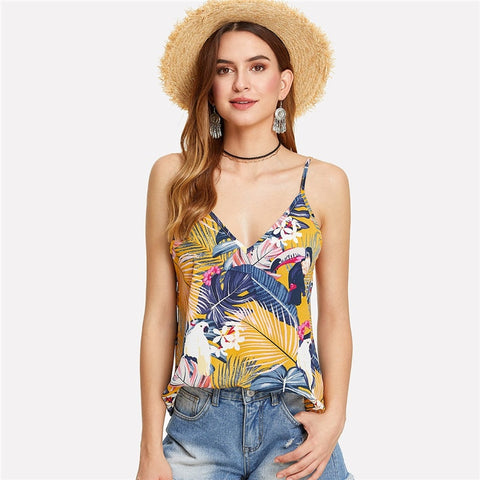 Laurie Tropical Cami Top