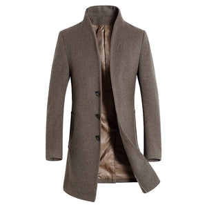Fergus Woolen Trench Coat