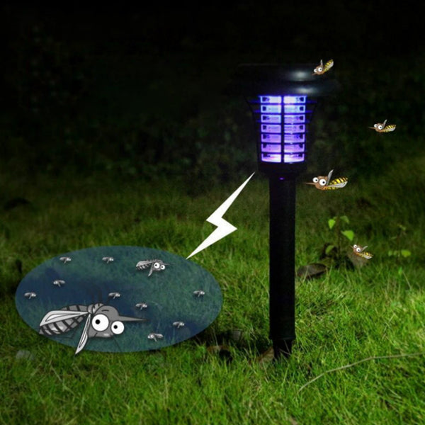 Outdoor Solar Led Electronic Mosquito Lamp