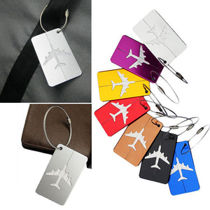 Novelty Rubber Luggage Tag