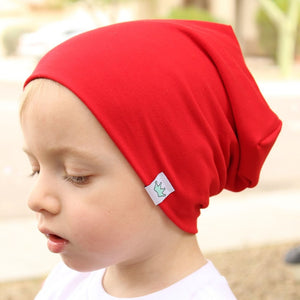 Solid Color Knitted Kid's Winter Beanies