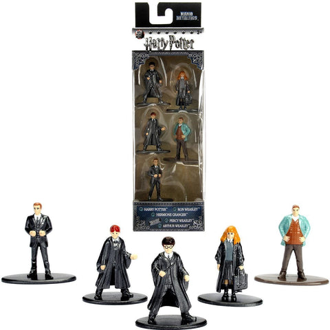 "Harry Potter Nano Pack A Metalfigs Diecast 1.5"" Figures (5-Pack)"
