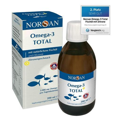 Norsan Omega-3 Visolie naturel - 200 ml