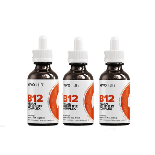 Vivo Life Vitamine B12 Mix Vegan - Voordeelverpakking 3x60 ml