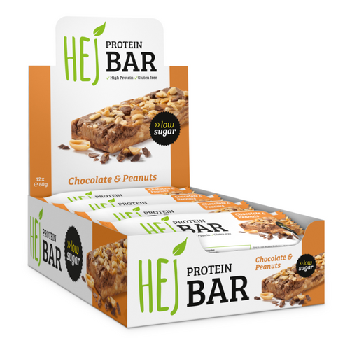Protein Bar (Chocolate & Peanuts) - 12x60g