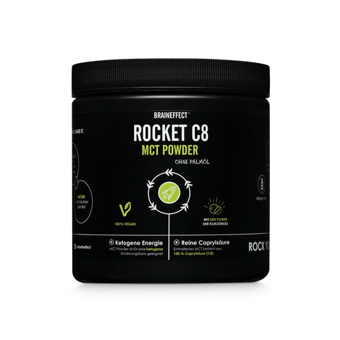 Rocket C8 MCT Powder - 250g