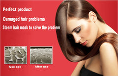 Thermal Steam Keratin Hair Treatment