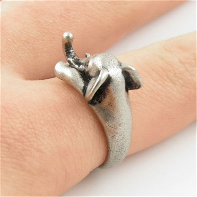 Elephant Wrap Ring, [TopTrends_4U]