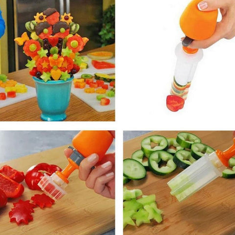 Art Fruit & Vegetable Shaper, [TopTrends_4U]