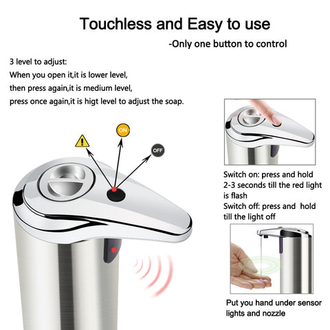 Automatic Soap Dispenser, [TopTrends_4U]