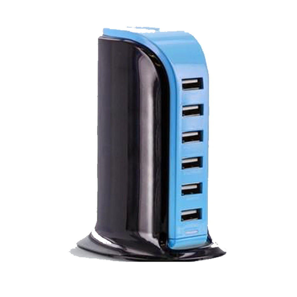 6-Port USB Station, [TopTrends_4U]