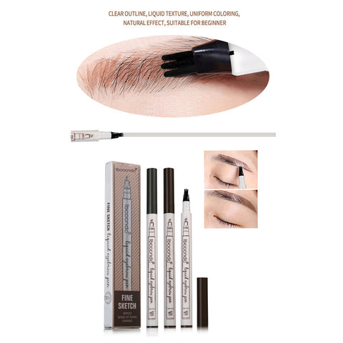 Waterproof  Microblading Liquid Eyebrow Pencil, [TopTrends_4U]