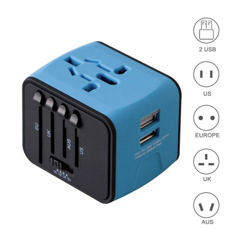 5 In 1 Travel Adapter, [TopTrends_4U]