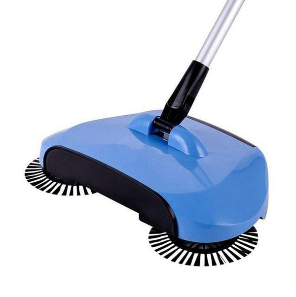 Floor Sweeper With Rotating Brushes, [TopTrends_4U]