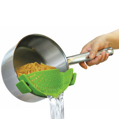 Clip On Silicone Strainer, [TopTrends_4U]