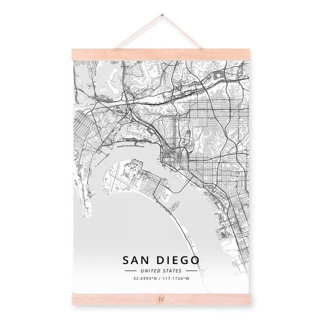 San Diego City Map, [TopTrends_4U]