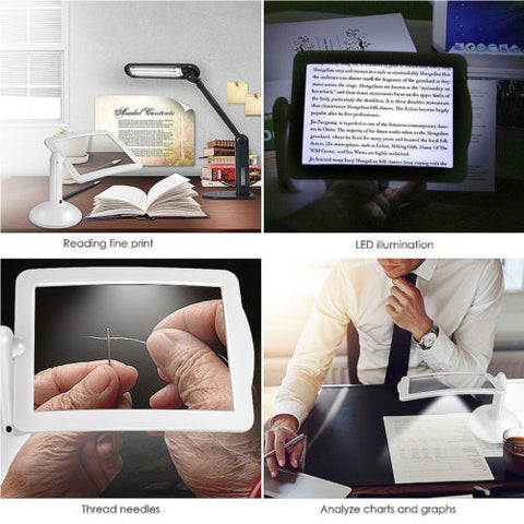 Magnifying 3X Glass LED Light, [TopTrends_4U]