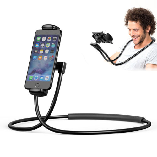 Hanging Neck CellPhone Stands Universal Holder Tech Gadgets