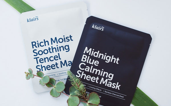 REVIEW: Rich Moist Soothing Tencel Sheet & Midnight Blue Calming Sheet Mask