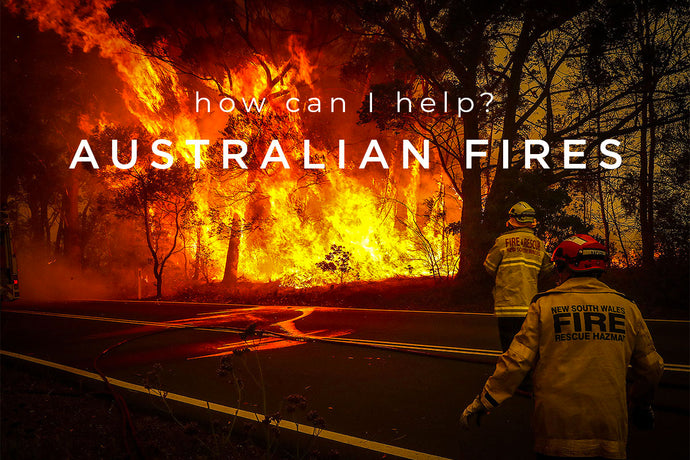 How can I help with the Australian Bushfires?