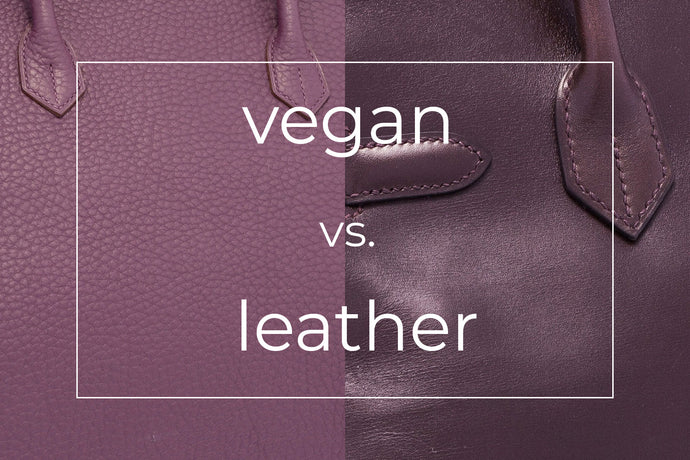 Vegan vs. Leather