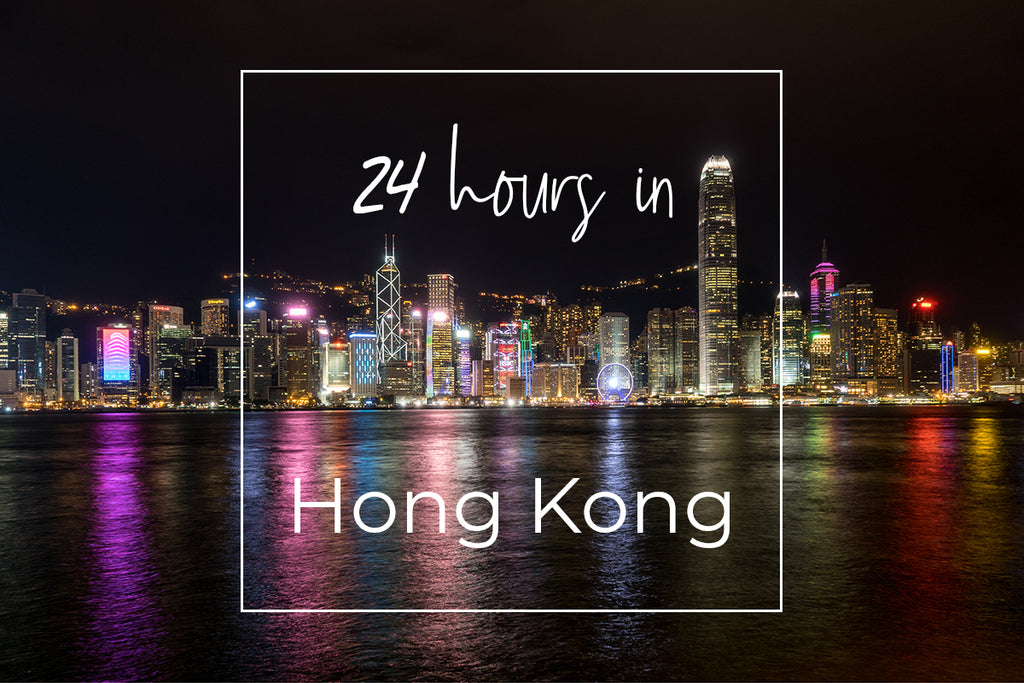 24 hours in Hong Kong