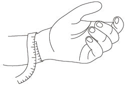 wrist size measurement