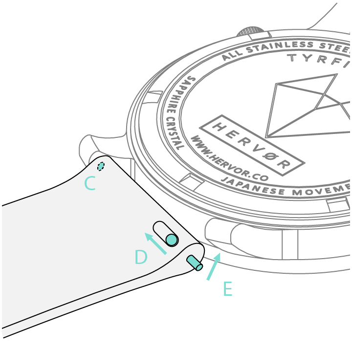 Watch Repair Diagram