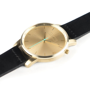 Tyrfing Champagne Gold & Classic Black Strap