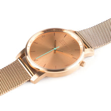 Load image into Gallery viewer, Tyrfing Rose Gold & Olive Khaki Strap