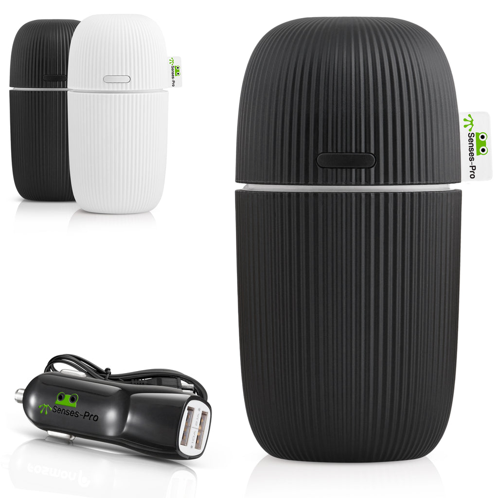 USB Car Essential Oil Diffuser - Black