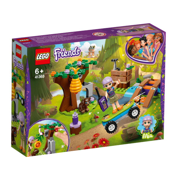 41363 - Lego - Mia's Forest Adventure Set