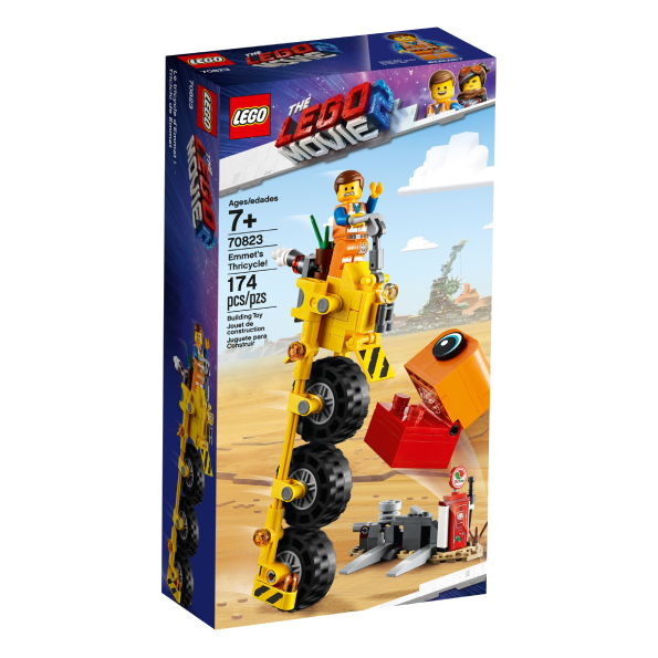 70823 - Lego - Emmet's Thricycle