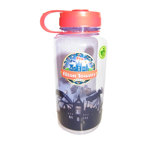 Alton Towers Resort 1 Litre Water Bottle