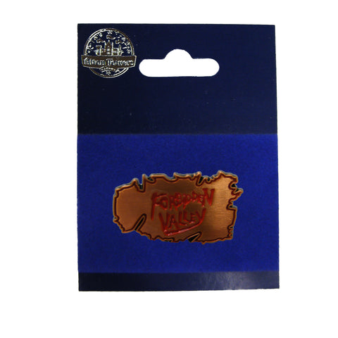 Forbidden Valley Pin Badge